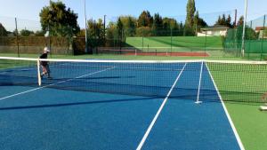 Rénovation des terrains de tennis